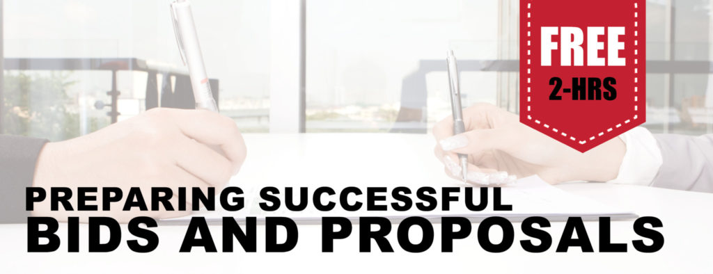 Preparing Successful Bids And Proposals University Of